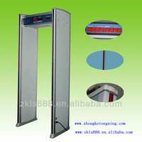 Waterproof Walk through metal detector gate, Archway metal detector, LED Indicator show the location of hidden metal