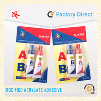 High quality fast and strong aluminum tube adhesive 4 minutes AB epoxy resin glue/ epoxy steel for household and industry