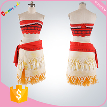 Newest movie Moana sexy cosplay costume Waialiki costumes exy princess Moana adult women fairy costumes