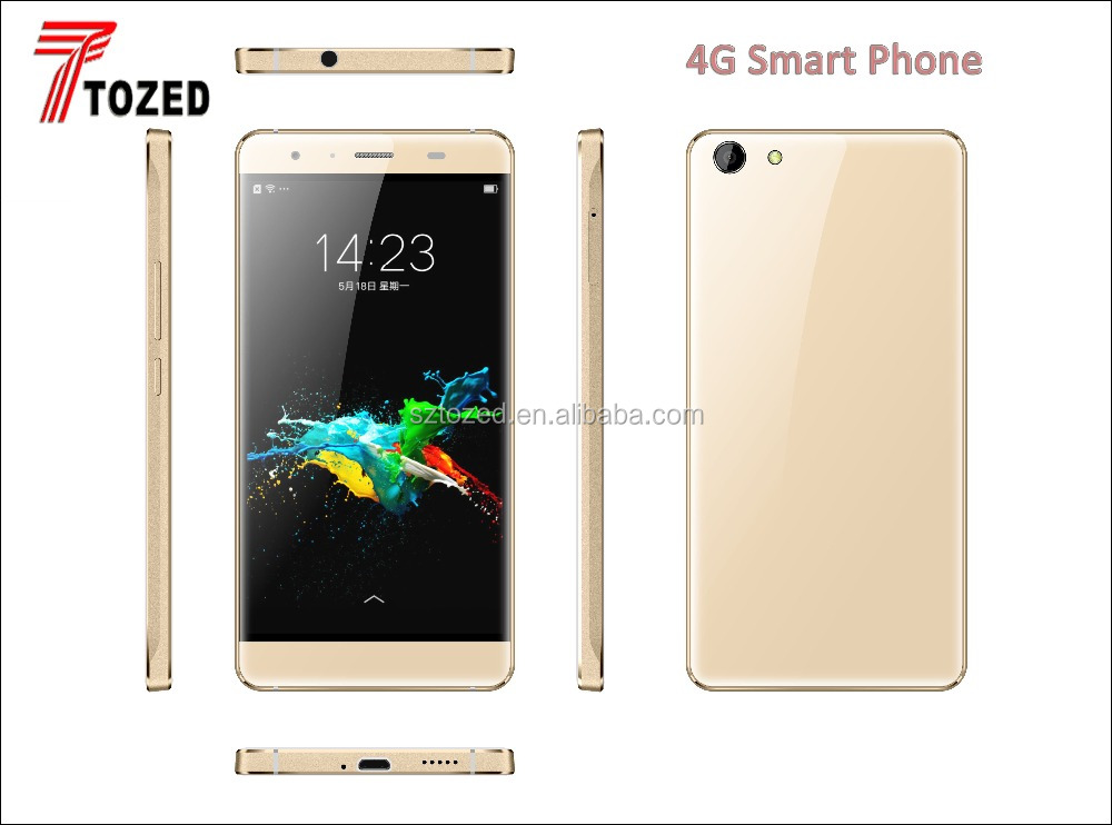 MTK6753 CortexA53 1.5GHz Octa Core with Dual sim card slot smart phone