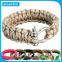 Fashion Jewelry 2015 Paracord Bracelet Clasp
