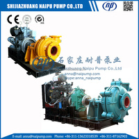 AH series 1.5/1B-AH slurry pump for gold mining plant from china factory with good price