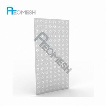 Made in Guangzhou Professional Factory Sunflower perforated plate Decorative Metal Perforated Mesh