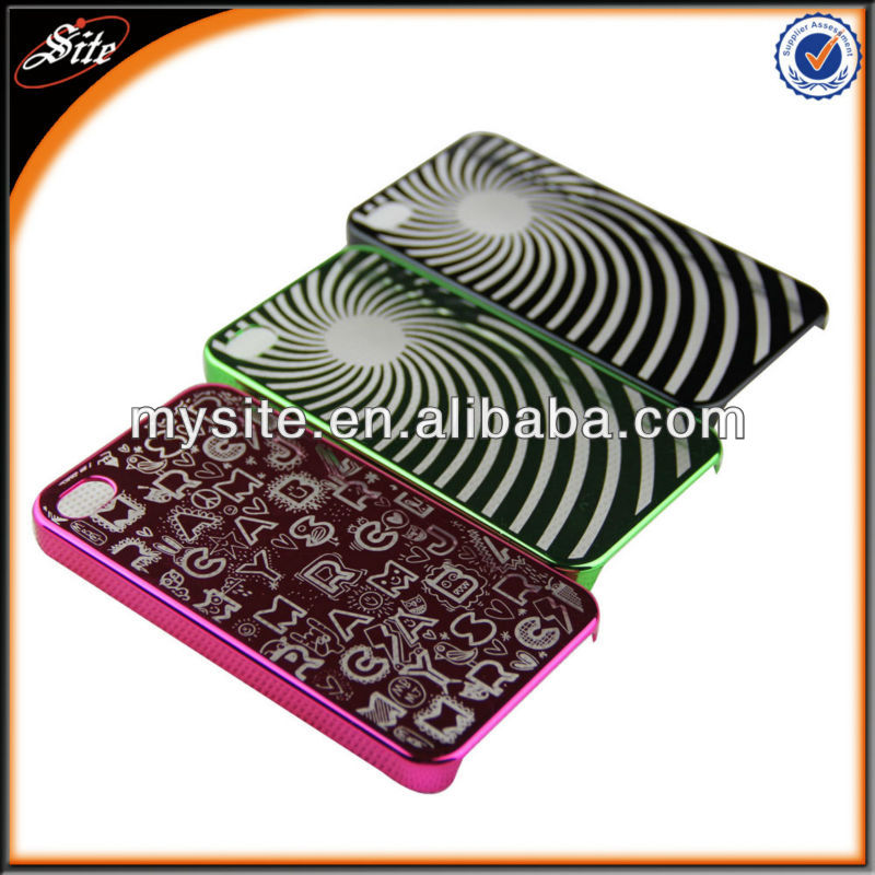 Situote Colorful Mobile Phone cover Hard PC Case for Iphone 4 4s