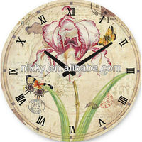 Lastest design DIY Flower In Blossom Wall Clock