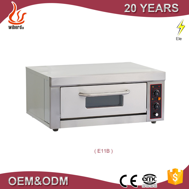 Stainless Steel One deck commercial home electric conveyor pizza cake oven wholesale price