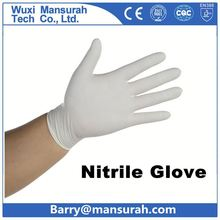 POWERTY Nitrile Work Gloves 13g green nitrile glove slip resistant protect gloves superior grip performance