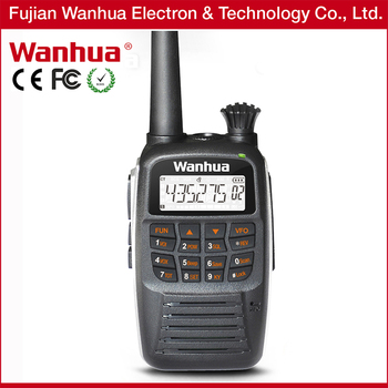 Wanhua gold color radio with Emergency 5w two way radio GTS770