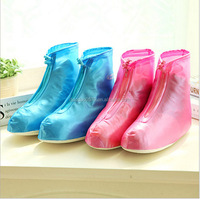 qwz1114 New fashion waterproof rain boot cover rubber waterproof shoe cover