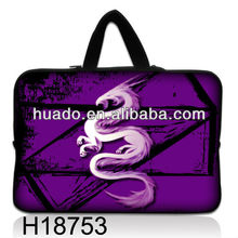 "fashion bag new product 7"" heat transfer neoprene laptop sleeve with handle"