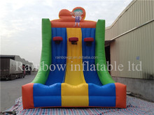 Hot Selling Amusement Inflatable Basketball Hoop / Outdoor Double Basketball Hoops Inflatable Basketball Shoot Games