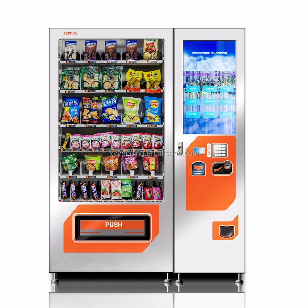 "Factory supply 22"" touch screen vending machine mini mart for cold drink"