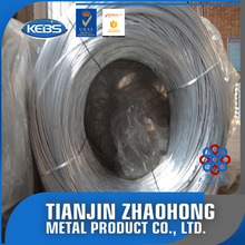 low carbon steel hot-dipped galvanized banding wire