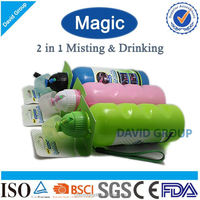 Creative 2 in 1 Misting 750 ml Joyshaker Plastic Sports Bottle&Plastic Sport Water Bottle&Drink Bottle