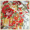 Spot printed fabric Classical elastic color polyester emulation silk fabrics