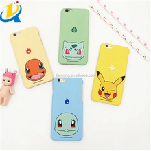 Popular new game anime style pokemon go fashion custom phone case