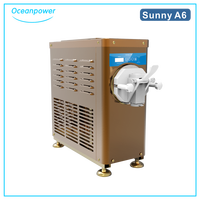SunnyA6 batching freezer, soft ice cream machine, home ice cream machine