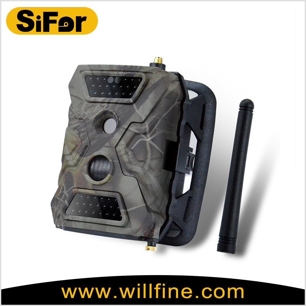 GPRS/GSM/MMS/SMS/FTP hunting camera, wildlife hunting Camera support remote control
