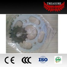 wave 100 sprocket and chain sets/lifan sprocket/komatsu sprocket