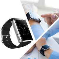 Jinpo GSM smart watch phone with touch display and camera, sports smart phone watch with sim card slot