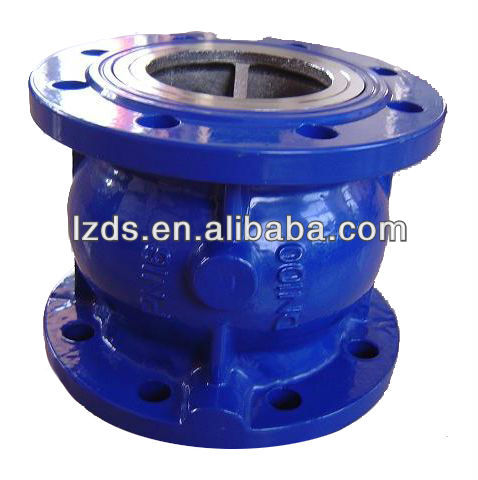 Center Guided Silent Globe Type Check Valve