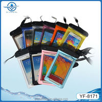 Outdoor swim camping boating fishing surfing waterproof bag forAll 4.8-5.5inch screen phones