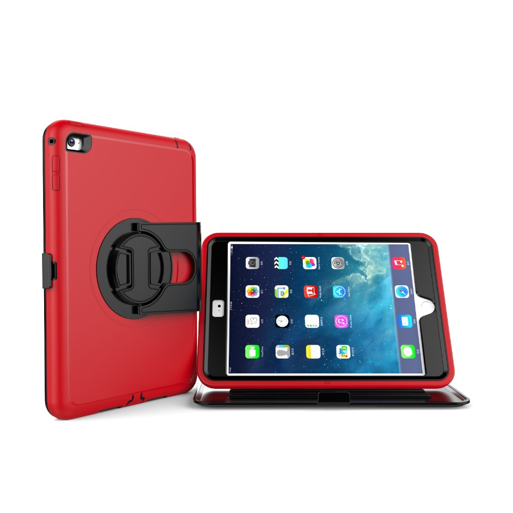"360 Degree Rotate Shockproof 10.3"" Tablet Case For iPad Mini4"