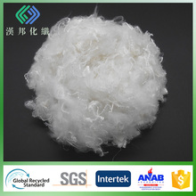 0.9DX51 polyester microfiber siliconized
