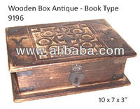 Wooden Box - Mango - Book Type
