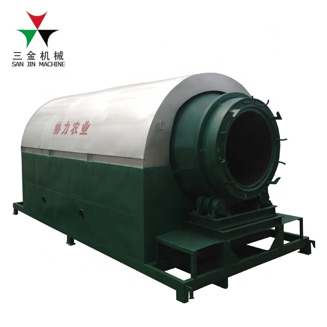 Rapid cooling biomass waste activated carbon carbonization stove /coconut shell charcoal making machines