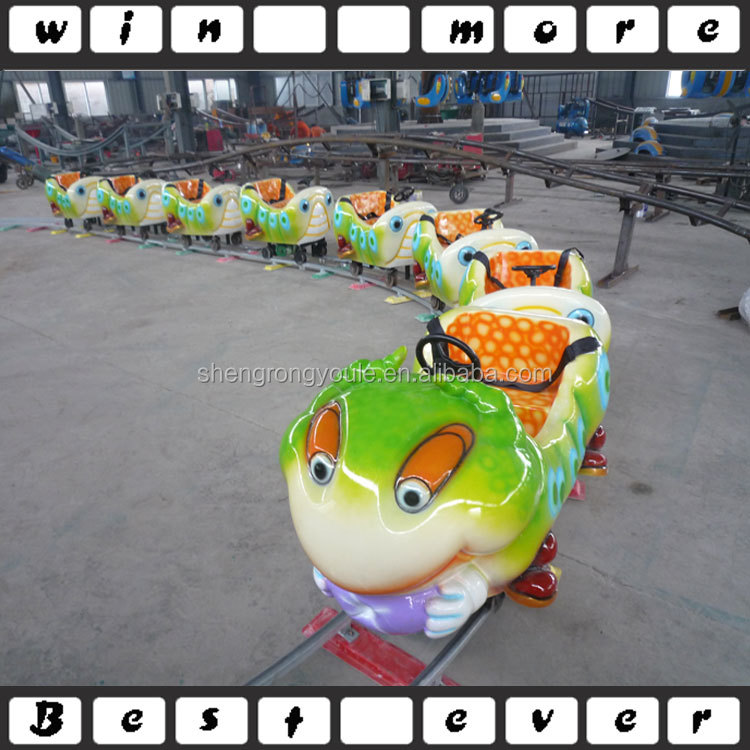Small amusement park rides mini electric trains games for sale