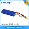 high discharge current 20C 4S 14.8v 2650mah lipo rc battery for rc boat 2 stroke