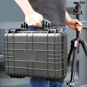 Weatherproof Hard Portable Toolbox Handle with Customizable Foam