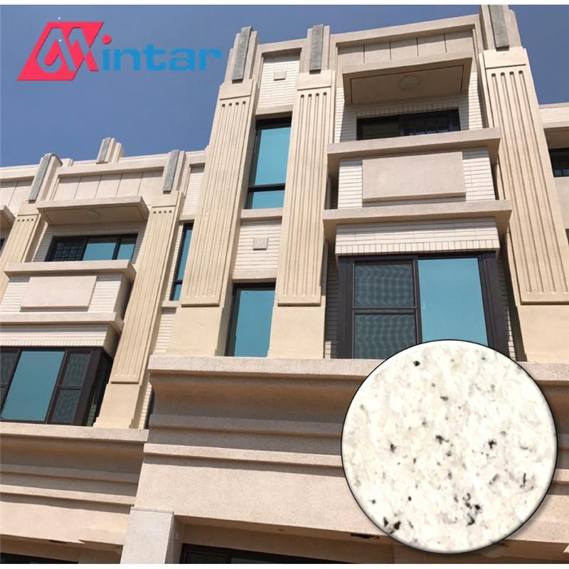 containing real multicolour natural waterproof granite stone paint