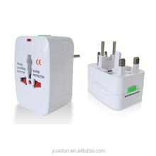 universal travel adapter with multiple plug