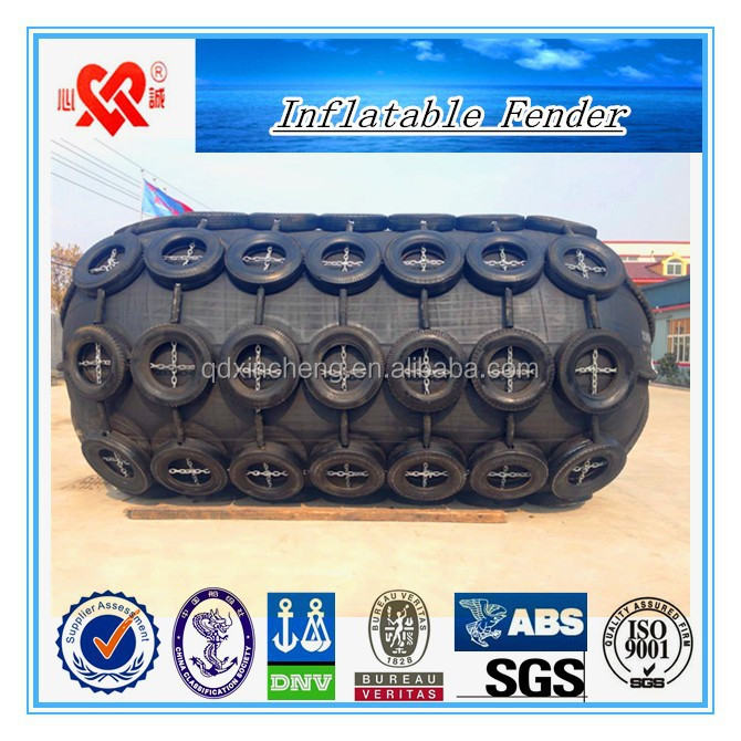 Ship and dock protection Equipments Eco-friendly Inflatable Marine Rubber Fender