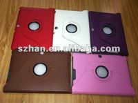 New Rotating Stand Leather Case For ASUS Transformer TF300
