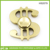 New Arrival US Dollar Shape Metal Hand Spinner Fidget Toy Stainless Steel Hand Spinner Toy Stress Reducer for Anxiety Focusing A