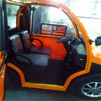 2 seat small eec electric car Made In China for Europe