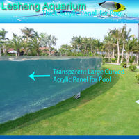 High Quality Acrylic Glass Swimming Pool With Competitive Price