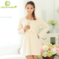 breathable material fashion first night dress for women