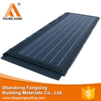 High Efficiency And Cheap solar roof tiles stone coated metal roof tile for house