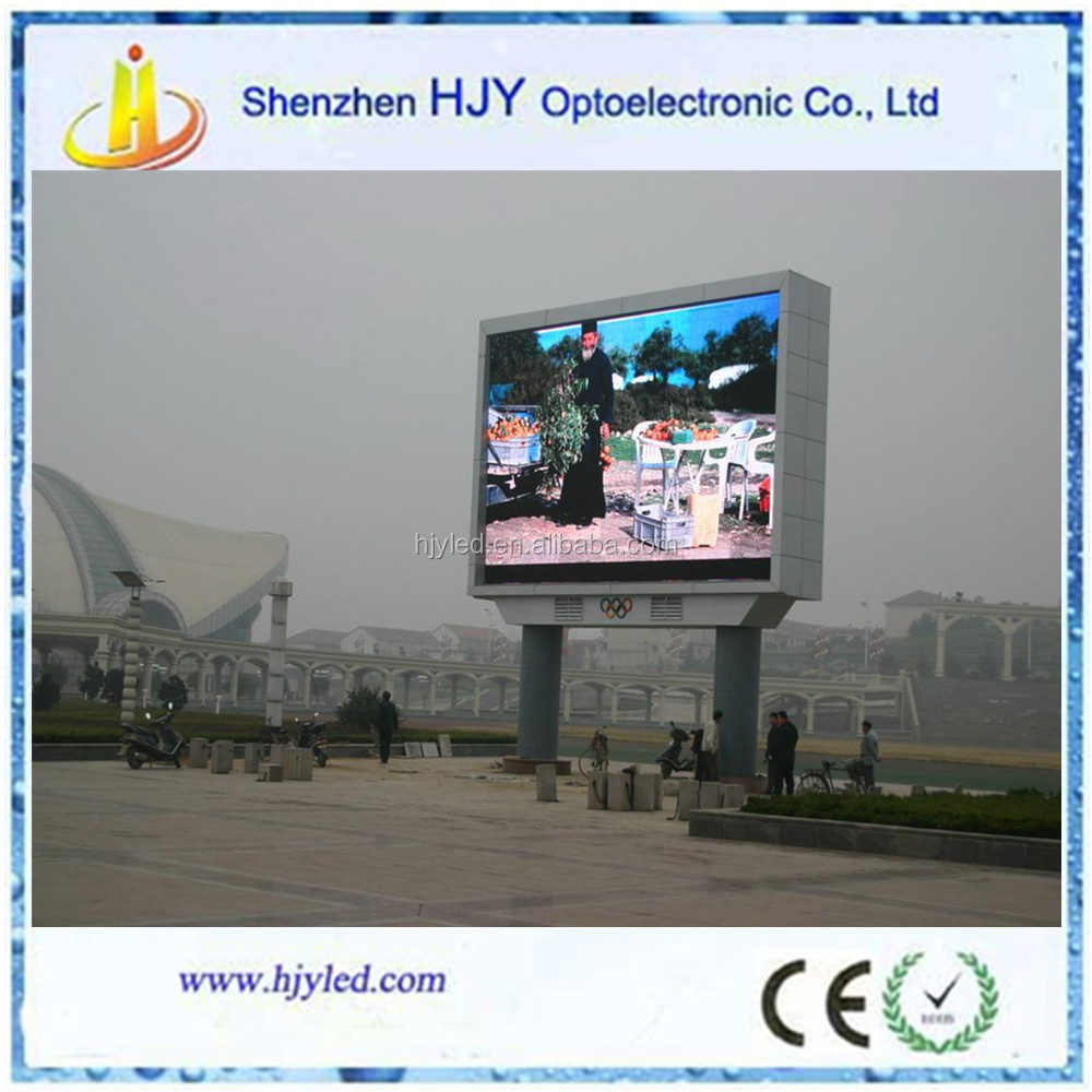 LED P10 outdoor advertising digital billboards for sale