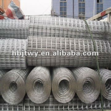 Hot sell Galvanized 1x1 welded wire mesh
