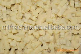 different shape dog treats production line/making machine/dog chew processing line