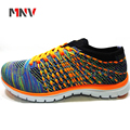 Fashion Flyknit Style Authentic Sport Shoes Men With 3D Eva Sole From China Factory