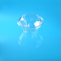 DIAMOND SHAPED PET PLASTIC PACKING CLAMSHELL FOR FRUITS