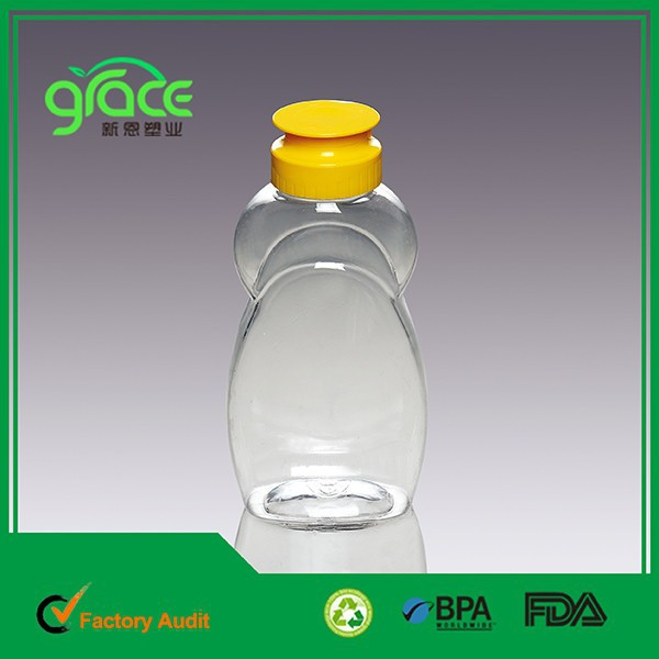 hot sale made china empty PET clear juice bottles wholesale