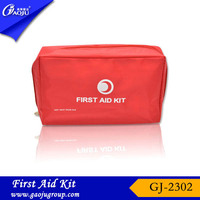 Emergency basic waterproof material wound care first aid kit/first aid training kit