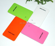 Full capacity 4000mAh Li polymer power bank super slim for iphone5s